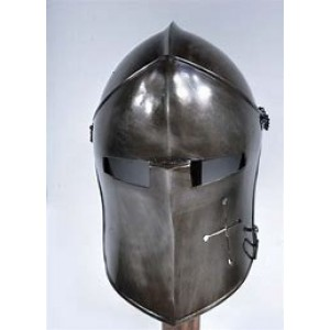 DARK BARBUTA VISORED HELMET