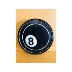 EIGHT BALL POOL BUTTON LIGHT