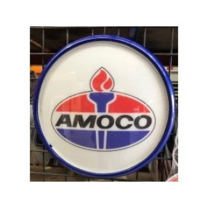 AMOCO BUTTON LIGHT