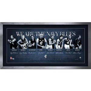 WE ARE THE NAVY BLUES SIGNED LITHOGRAPH