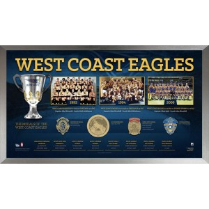 West Coast Eagles Football Club Framed Print