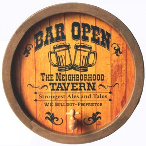 BAR OPEN ROUND BARREL END